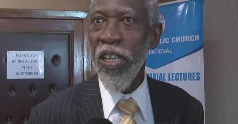 The Church must hold those who govern us accountable - Prof Adei