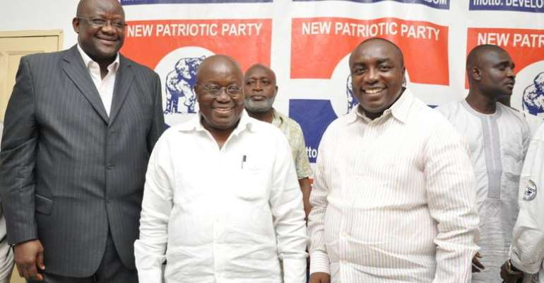 Nana Akufo-Addo Must Resign First For Others To Follow