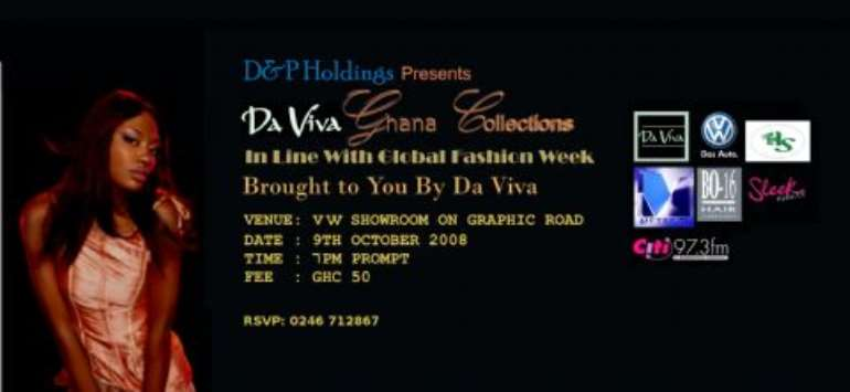 DAVIVA GHANA COLLECTION 2008……Changing the face of fashion
