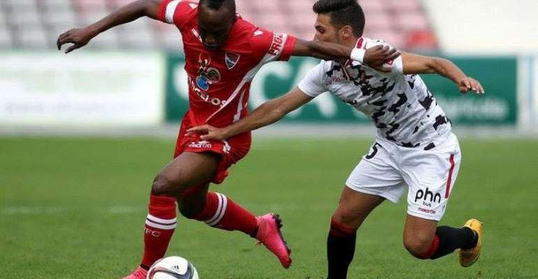 Ishmael Yartey in action for Gil Vicente