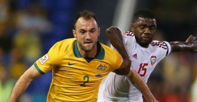 Free to play: Australia full-back Ivan Franjic cleared of serious injury