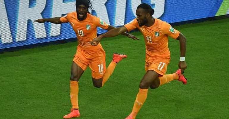 Elephants rating to go: Preview: Colombia v Ivory Coast