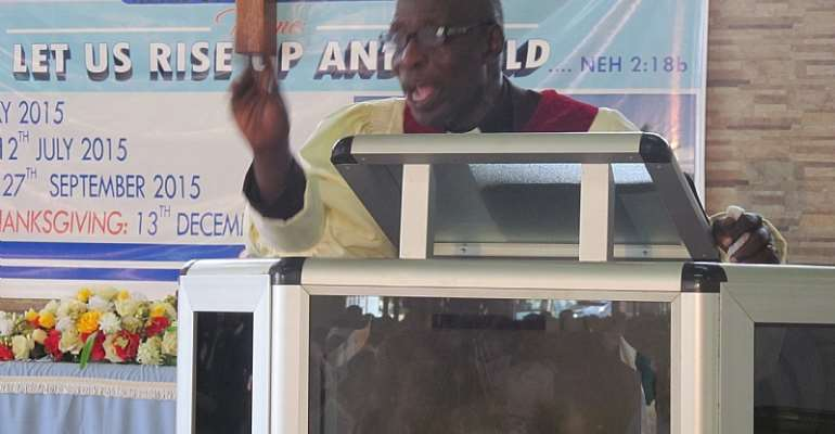 Ga Presbytery Bands' Union Induct New Executives