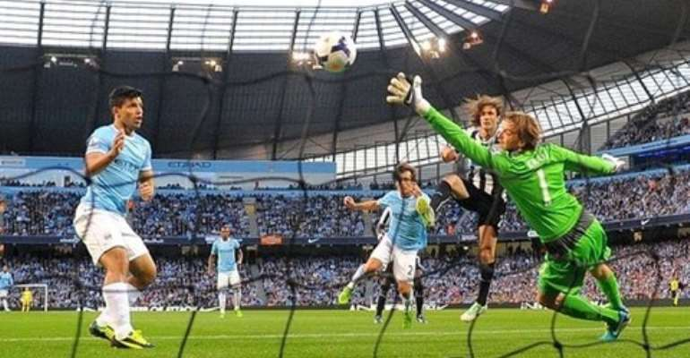 Man City thrash Newcastle 4-0