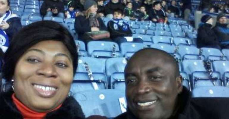 Photos: Kwabena Agyepong spotted at the King Power Stadium