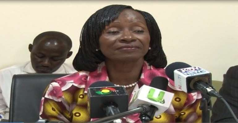 Health Minister, Sherry Ayittey