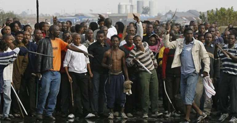 We want to come home; Stranded Ghanaians in SA tell government
