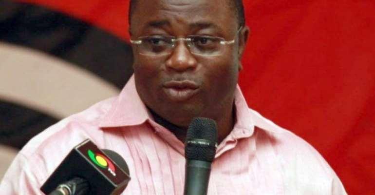 Elvis Afriyie-Ankrah, Former Sports Minister