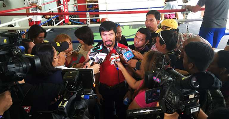 Pacquiao already on weight for November 22 clash with Algieri