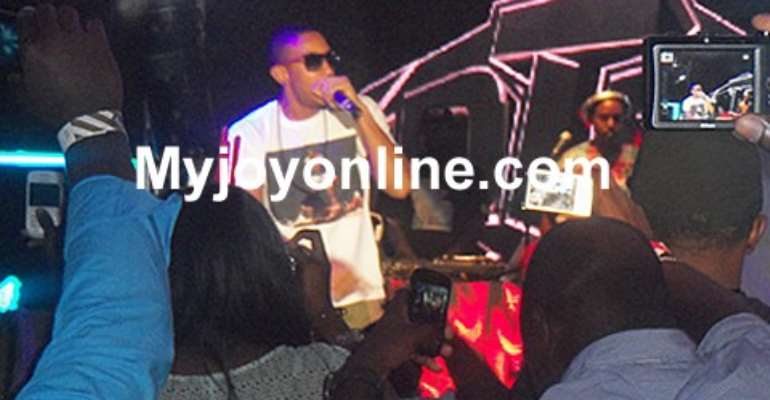 Ludacris thrilled Ghanaians in his first ever performance