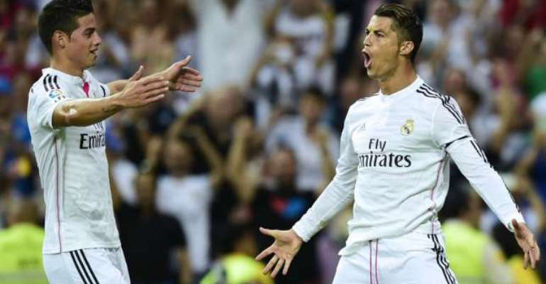 James Rodriguez grateful for 'fundamental' Cristiano Ronaldo support at Real Madrid