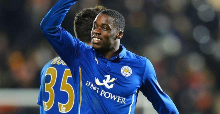 Jeffrey Schlupp has earned Leicester City praise after debut Ghana goal