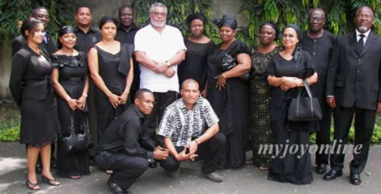 Ex-President Rawlings informed of Captain Huppenbauer's death