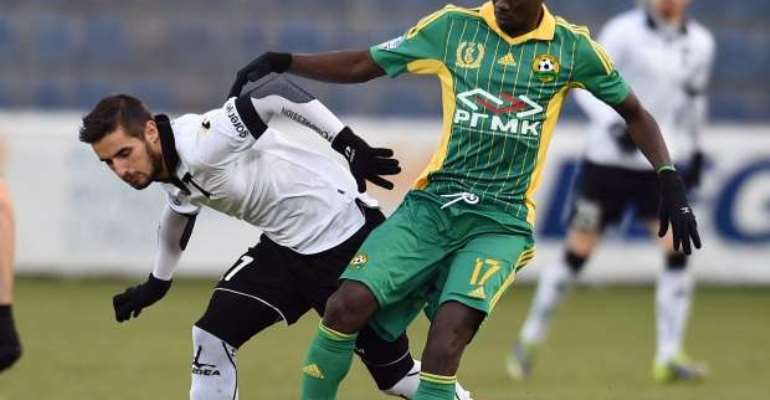 Ghana midfielder Rabiu Mohammed