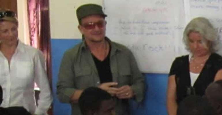 Bono is a transparency activist