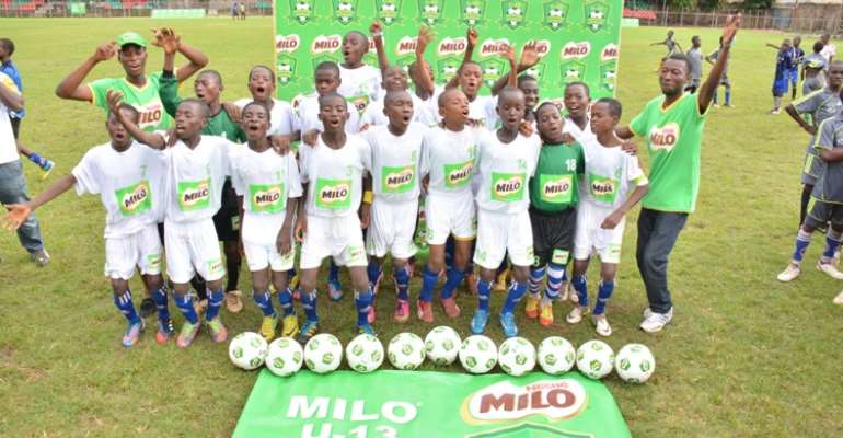 Nestle Milo Announces A GHC10,000 Prize Money, Products And Educational Materials For Winner Of Milo U-13 Champions League National Finals