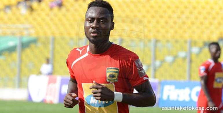 Asante Kotoko midfielder Eric Donkor