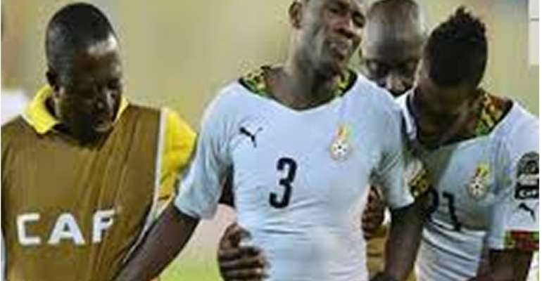 Guinea goal keeper unrepentant for Gyan lunge; parries away apology calls