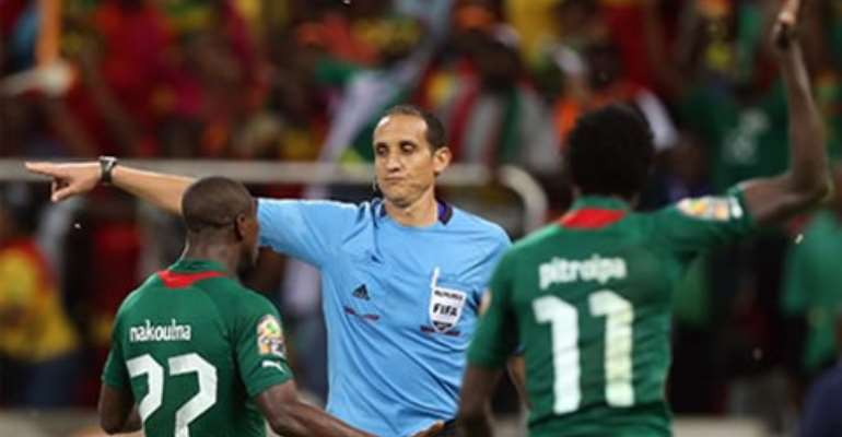 Tunisian referee banned after controversial CAN 2013 semi-final performance