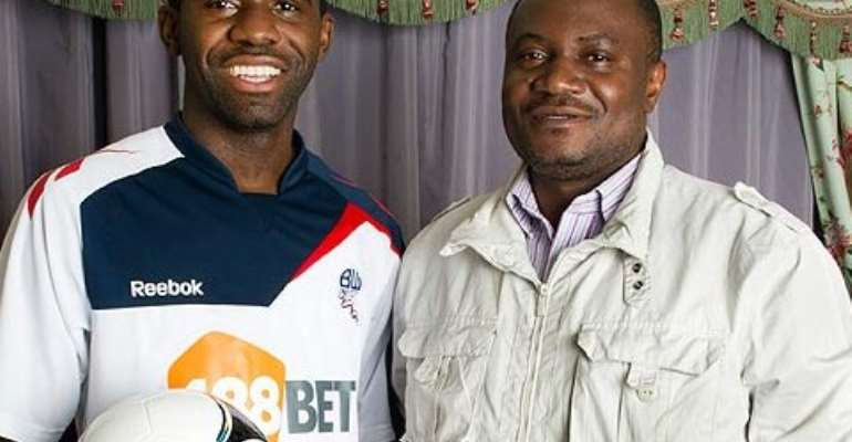 'Special bond' ... dad Marcel endured jail but was determined to give Fabrice a better life.