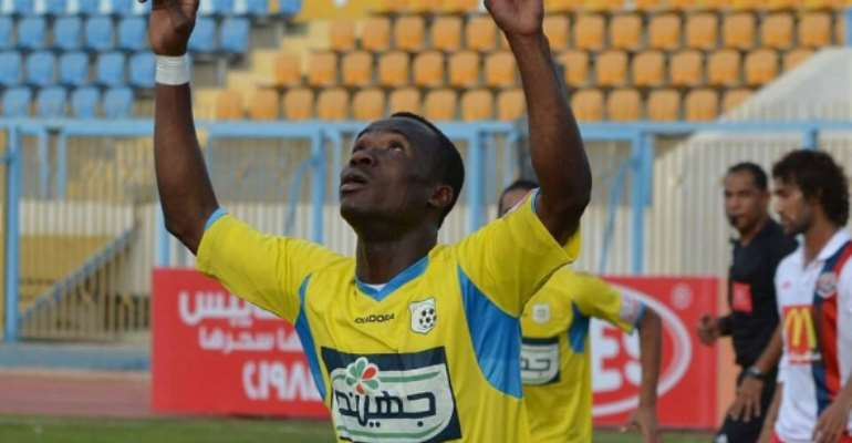 Ghanaian attacker John Antwi hits brace to power Ismaily win in Egyptian top-flight