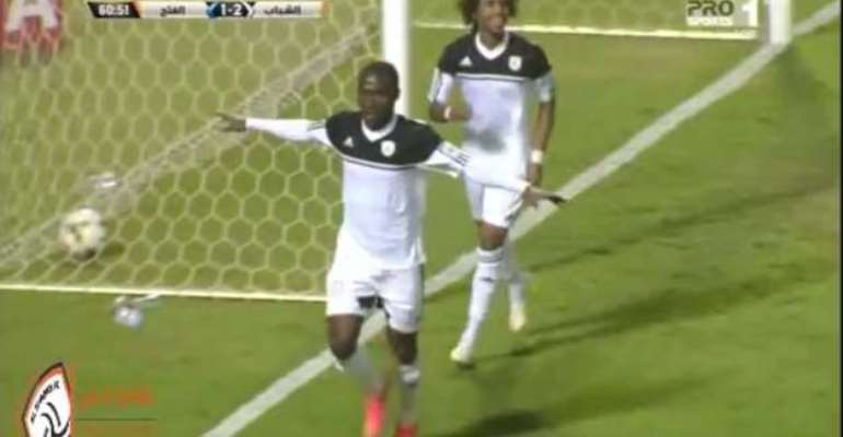 Off the mark: John Antwi opens Al Shabab account