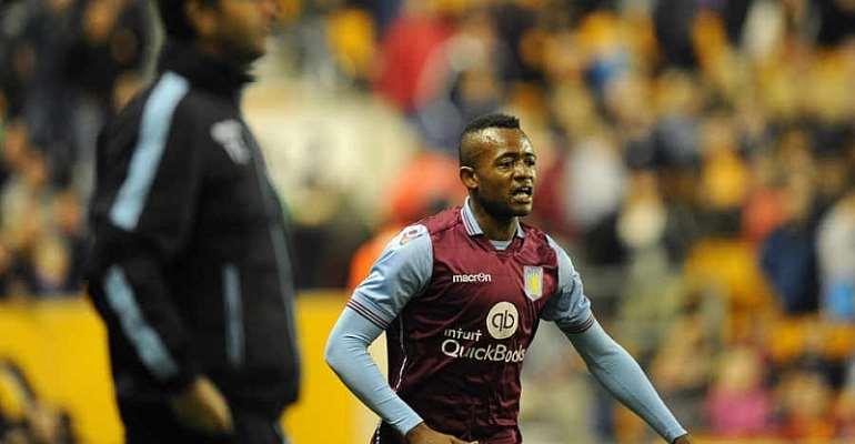 Jordan Ayew has scored five goals for Villa this season