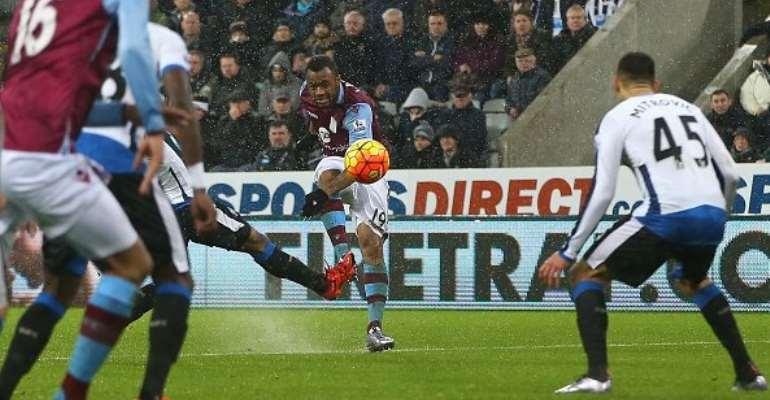 Jordan Ayew scored a beauty for Aston Villa