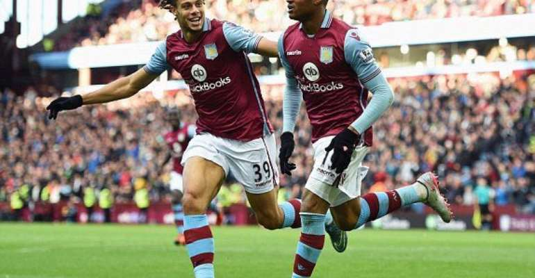 Jordan Ayew's Villa are rooted at the bottom of the English Premier League.