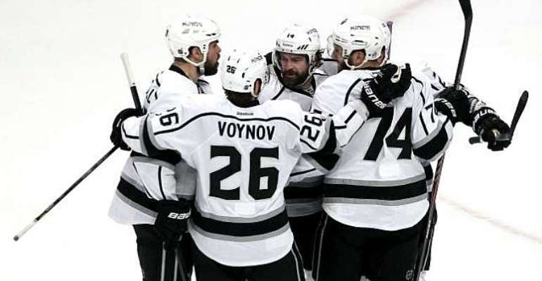 The Los Angeles Kings reach the Stanley Cup finals