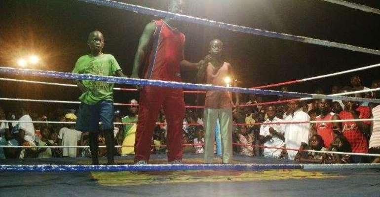 Roaming gym: 20 more talented young boxers selected at Korle Gonno