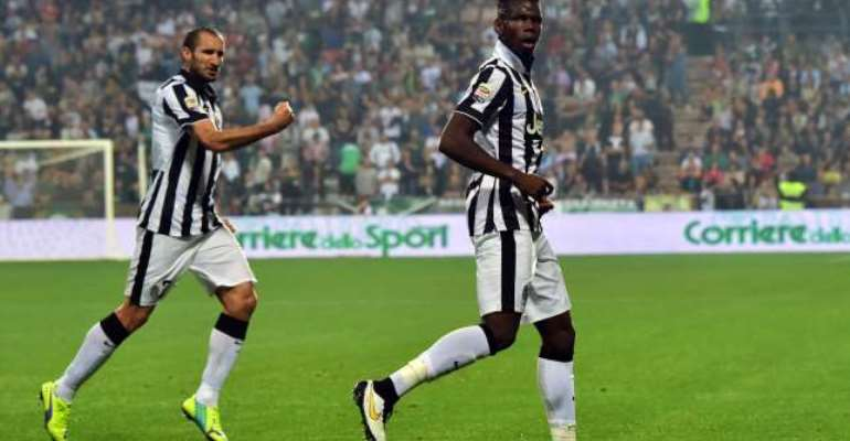 Champions Juventus held to a 1-1 draw by Sassuolo