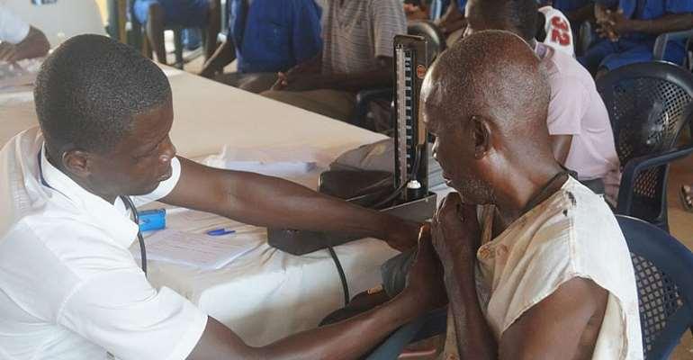 Malku Foundation Medical Outreach To Nsawam Prison