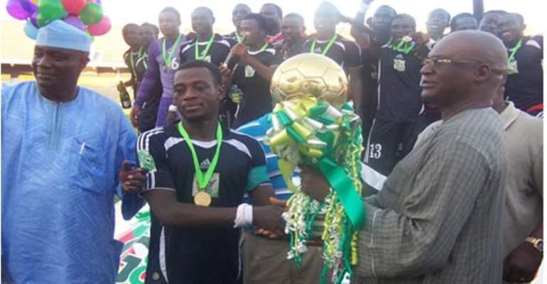 Berekum Chelsea won the Ghalca Top 8 tournament