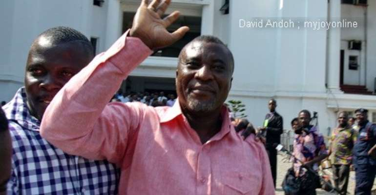 I had only GH¢50 on me in court – Hopeson Adorye
