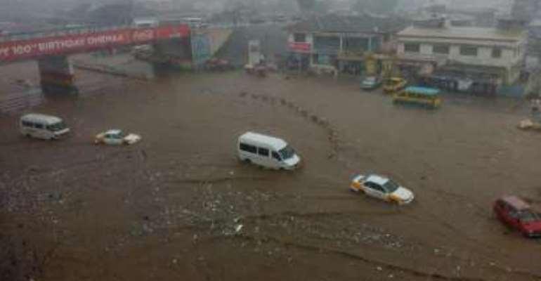 Southern Ghana experiencing peak rainy season