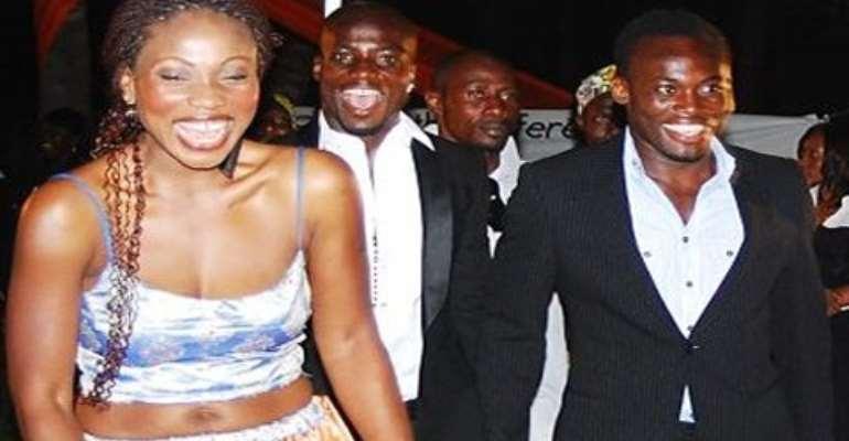 Akosua Puni and Michael Essien