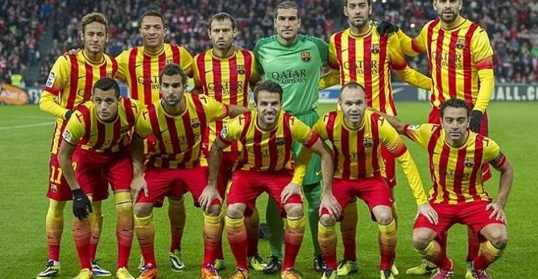 FC Barcelona's cursed jersey