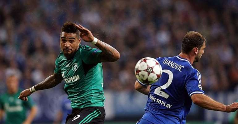 Kevin-Prince Boateng returned from injury to play against Chelsea