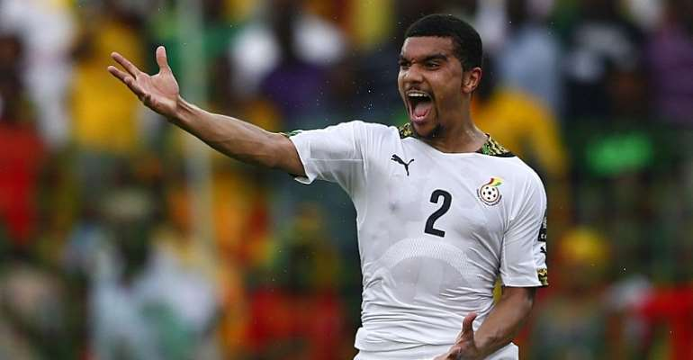 Ghana striker Kwesi Appiah during the Africa cup of nations