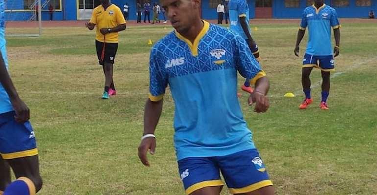 Amavubi captain Haruna Niyonzima