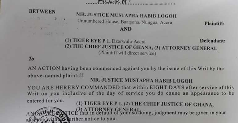 Justice Habib Logoh, cited in bribery scandal, fights impeachment