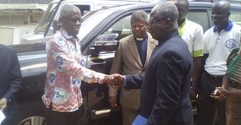 We'll Not Depend Solely On Offertory—Presby Reverend