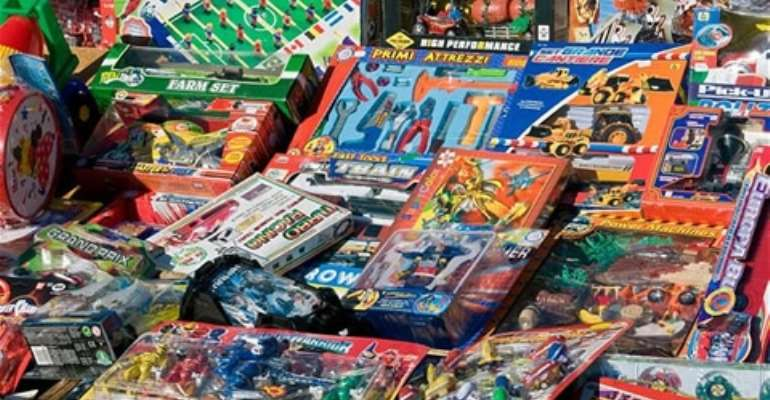Ghanaian children exposed to toxic lead contained in toys - UN report