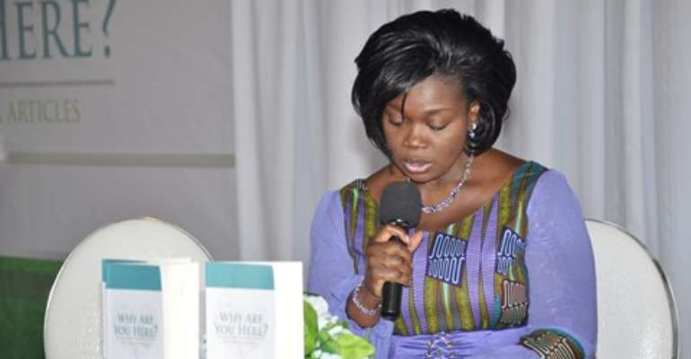 """L'aine boss launches new book- """"Why are you here?"""""""