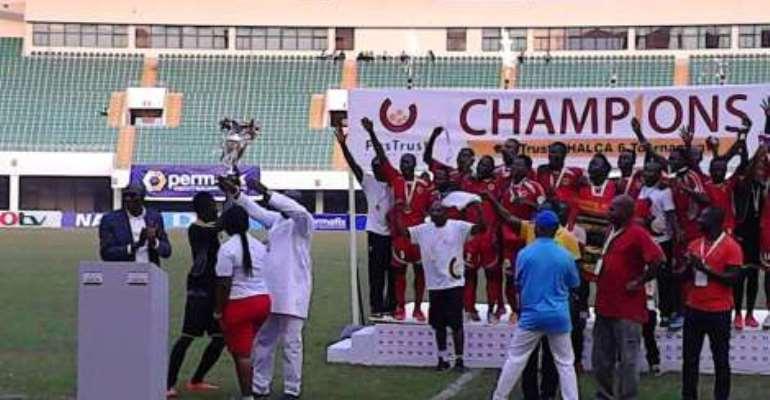Champions: Kotoko pip Aduana Stars to win FirsTrust G6 tounament