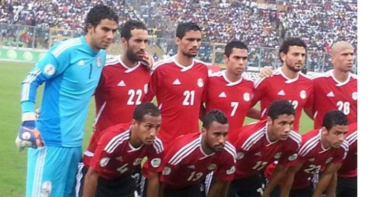 Egypt to open camp for Ghana clash on November 10