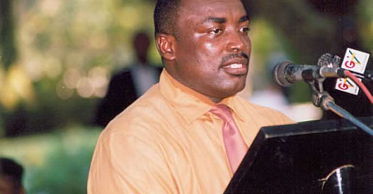 former Presidential Spokesman and Press Secretary to the President, Kwabena Agyei Agyapong.