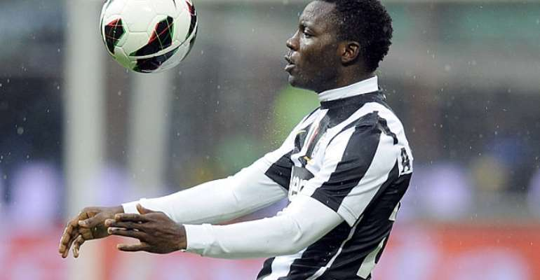 Kwadwo Asamoah suffered racial abuse