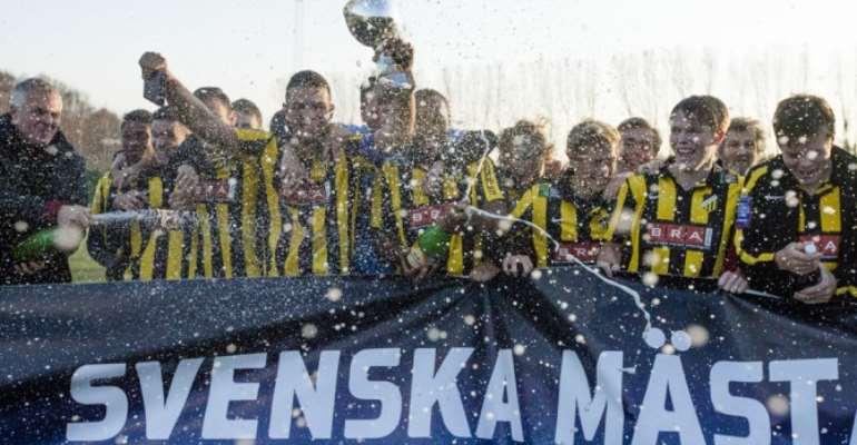 Ghanaian teen Kwame Mubarak wins Swedish title with BK Hacken